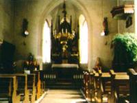 Kirche Thüngen alt innen2